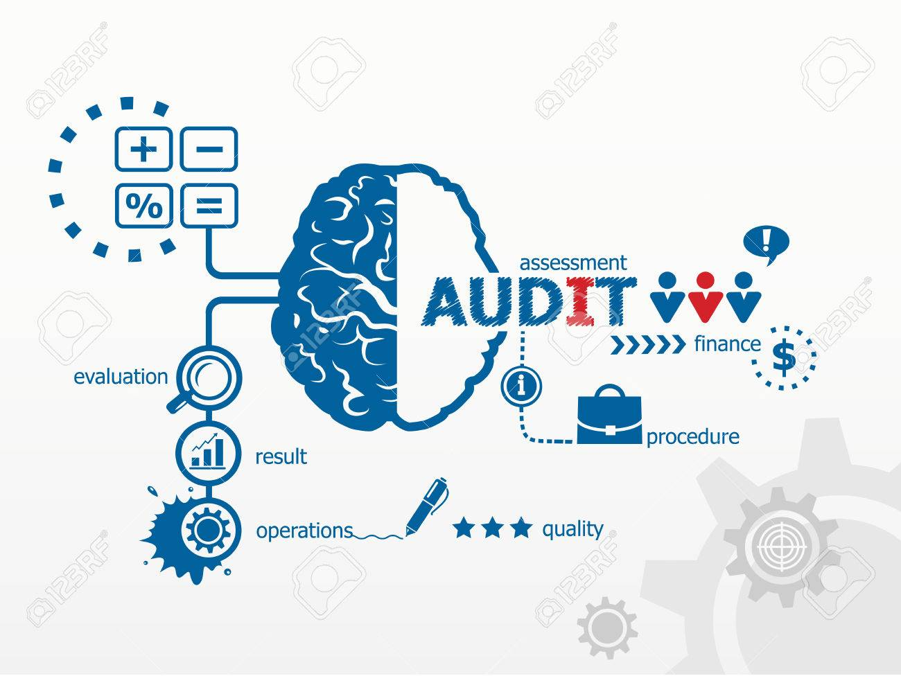 Audit - analyze the financial statement of a company  Several