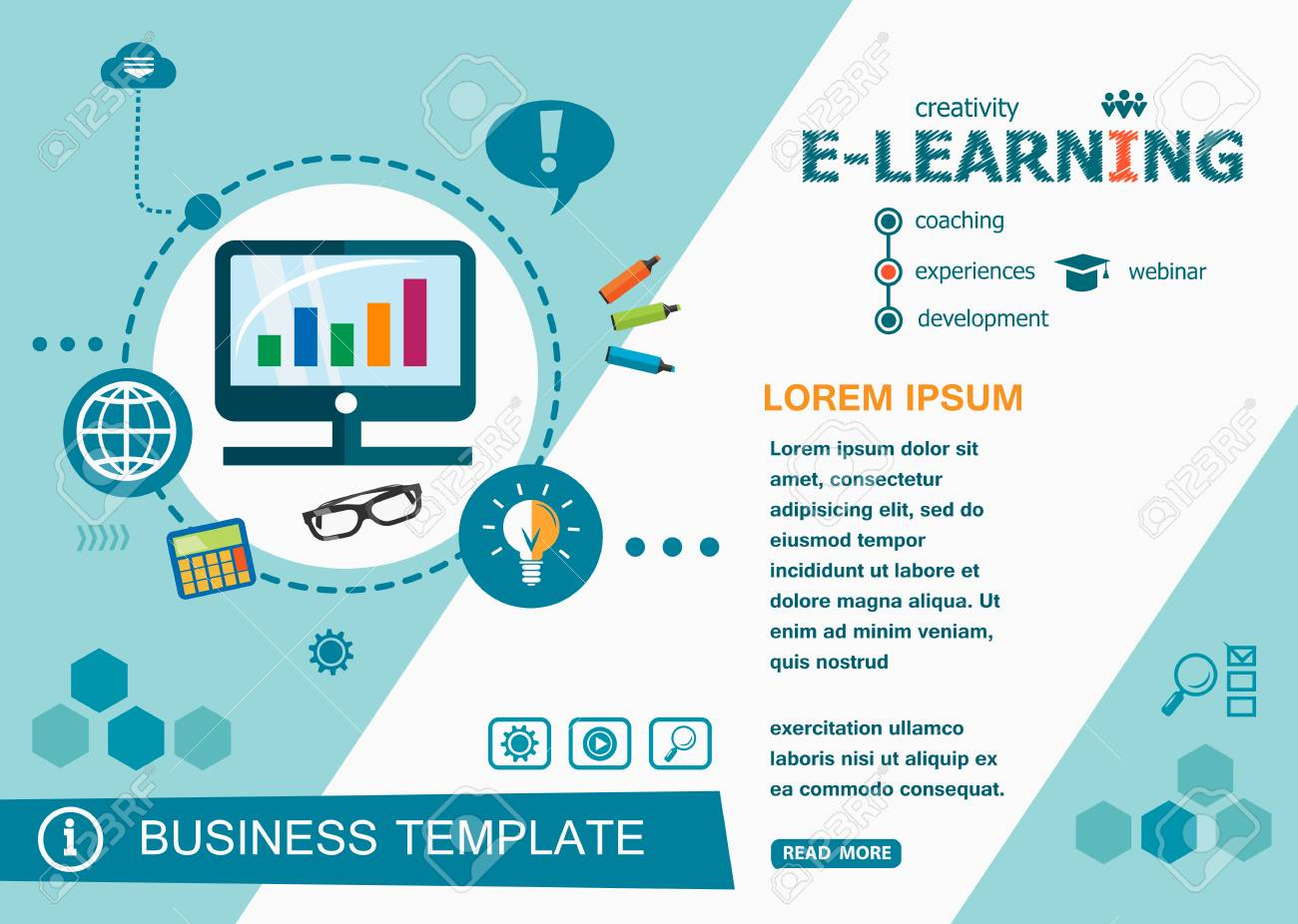 online e learning design concepts of words learning and training