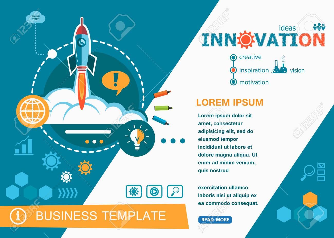 Innovation Design Concepts Of Words Learning And Training Innovation Royalty Free Cliparts Vectors And Stock Illustration Image 63731874
