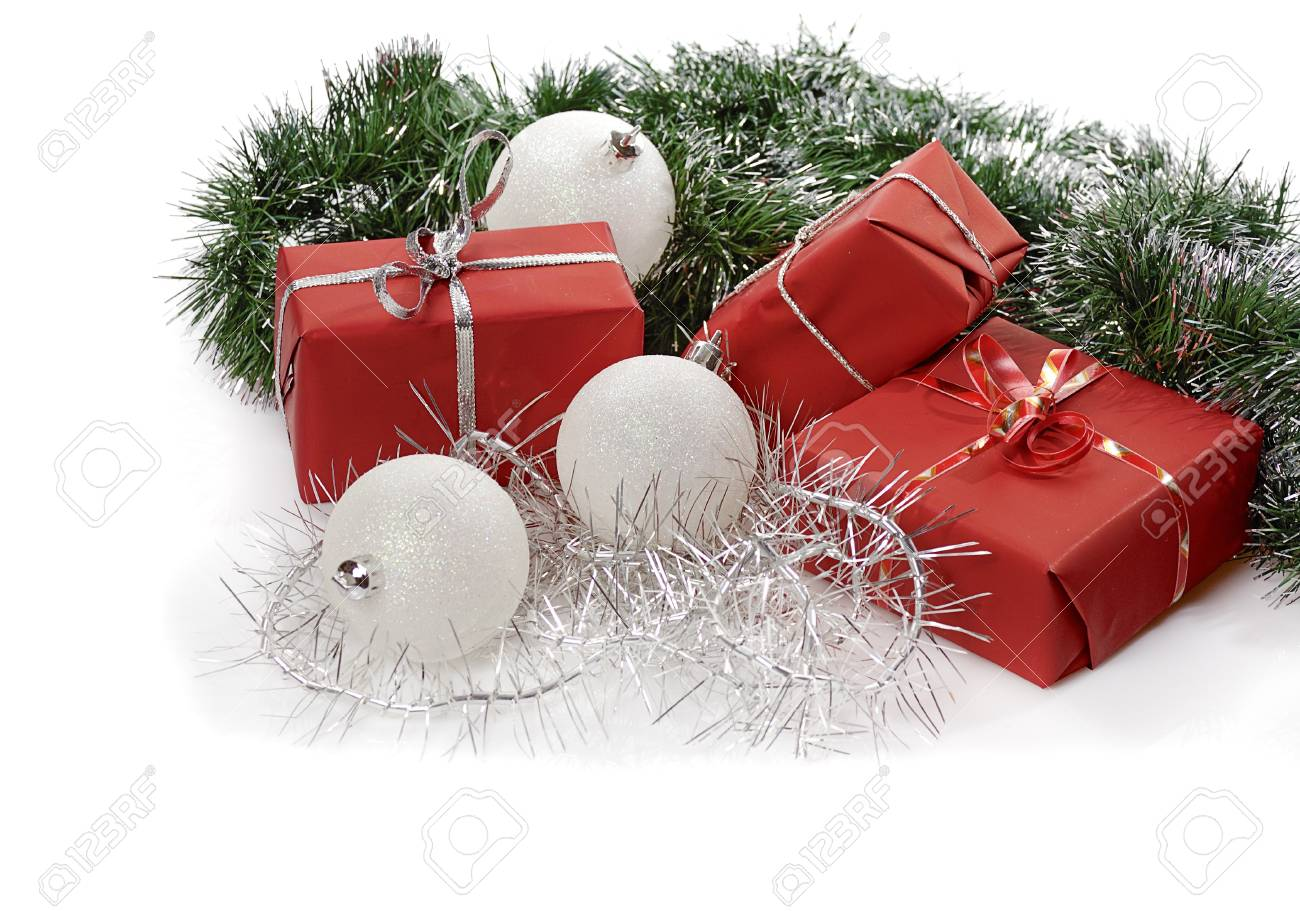 Regali di Natale rossi