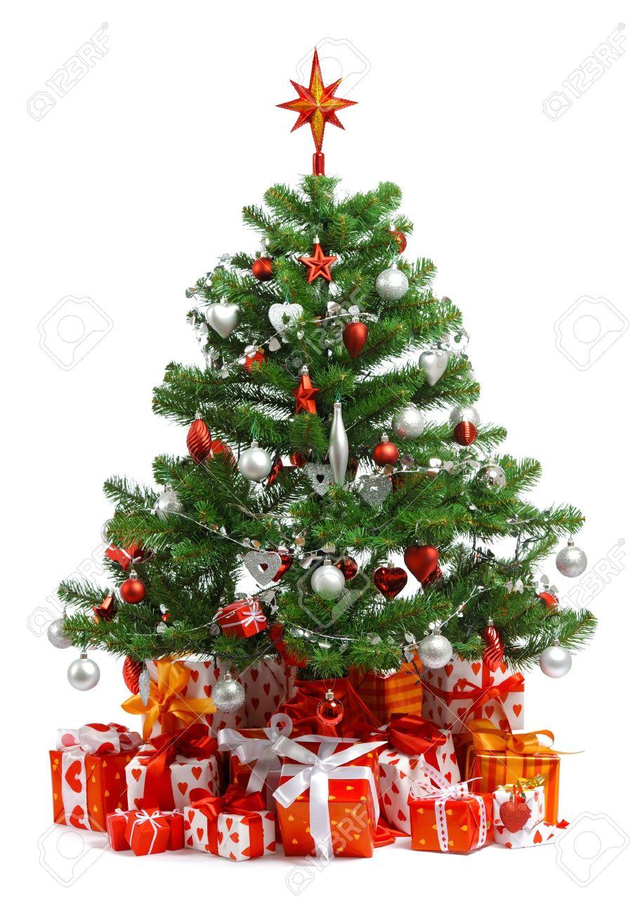 Schleifen Weihnachtsbaum.Stock Photo