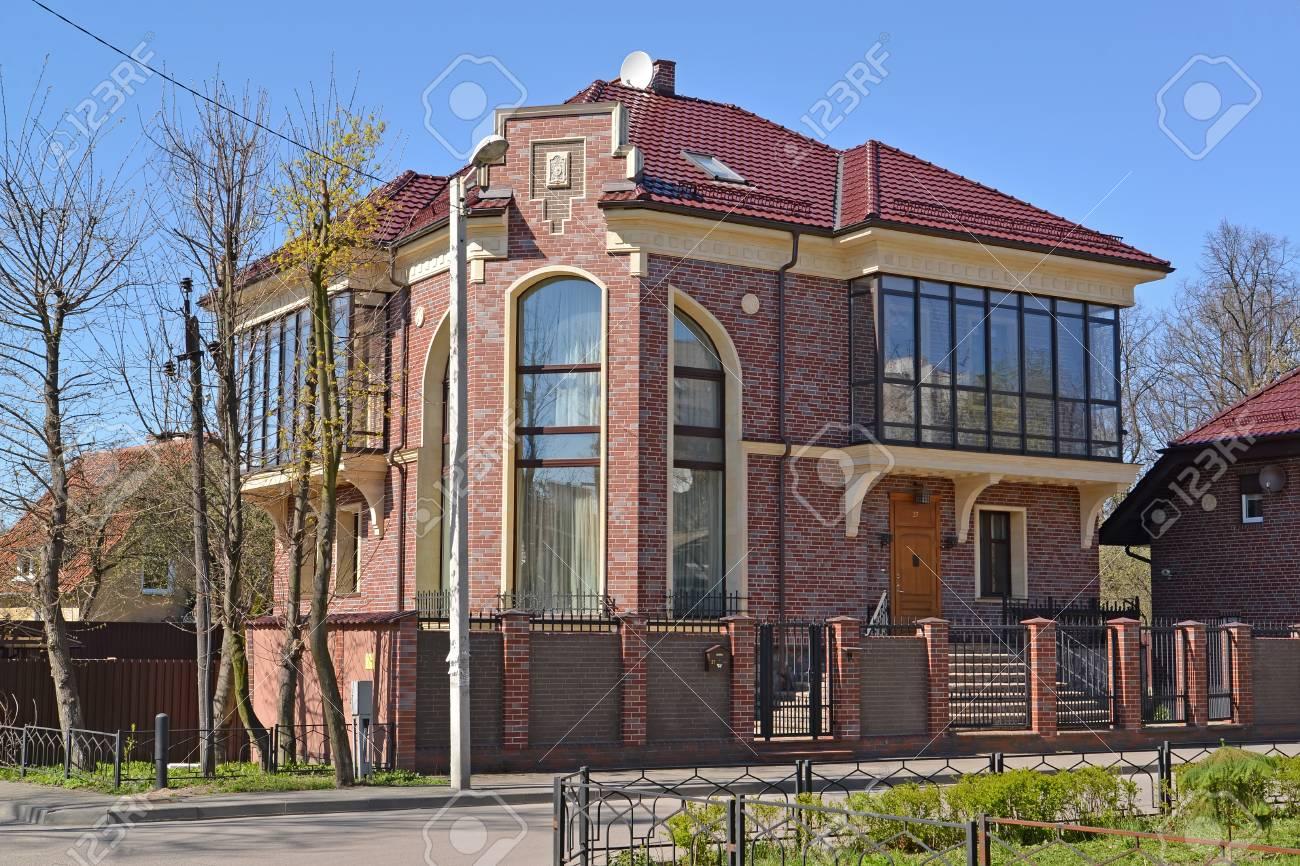 Maison de campagne moderne à Kaliningrad