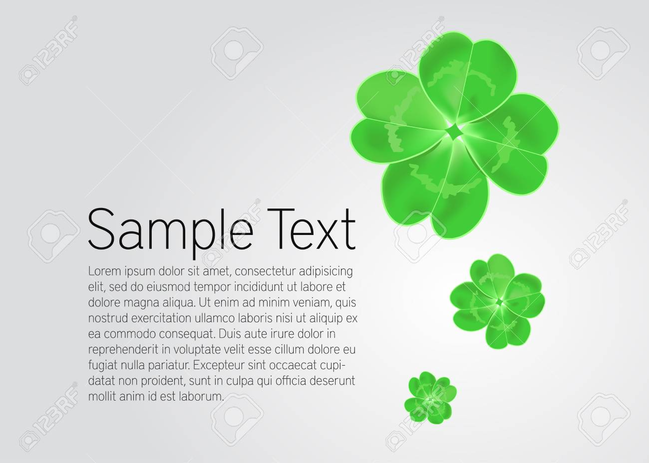 St Patrick s Day card Stock Vector - 19905767