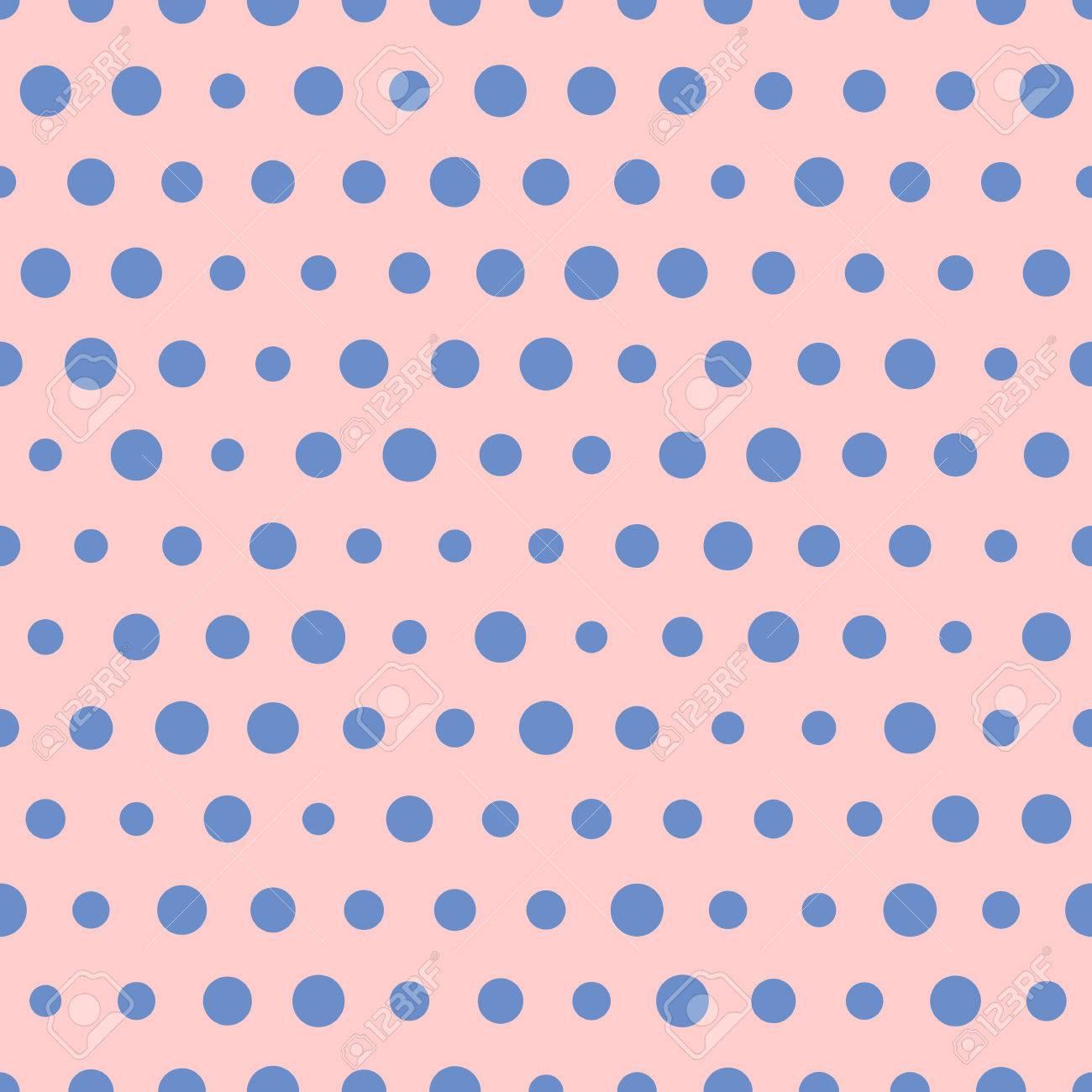 Sezione - Tara & simili > - Pagina 2 58789150-vettore-modello-casuale-di-grandi-e-piccoli-puntini-blu-polka-su-sfondo-rosa-pois-senza-soluzione-di-Archivio-Fotografico