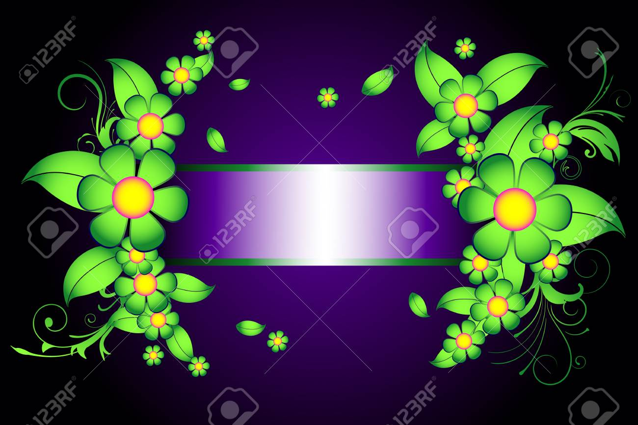 Classical royal decoraton with floral elements Stock Vector - 3946760