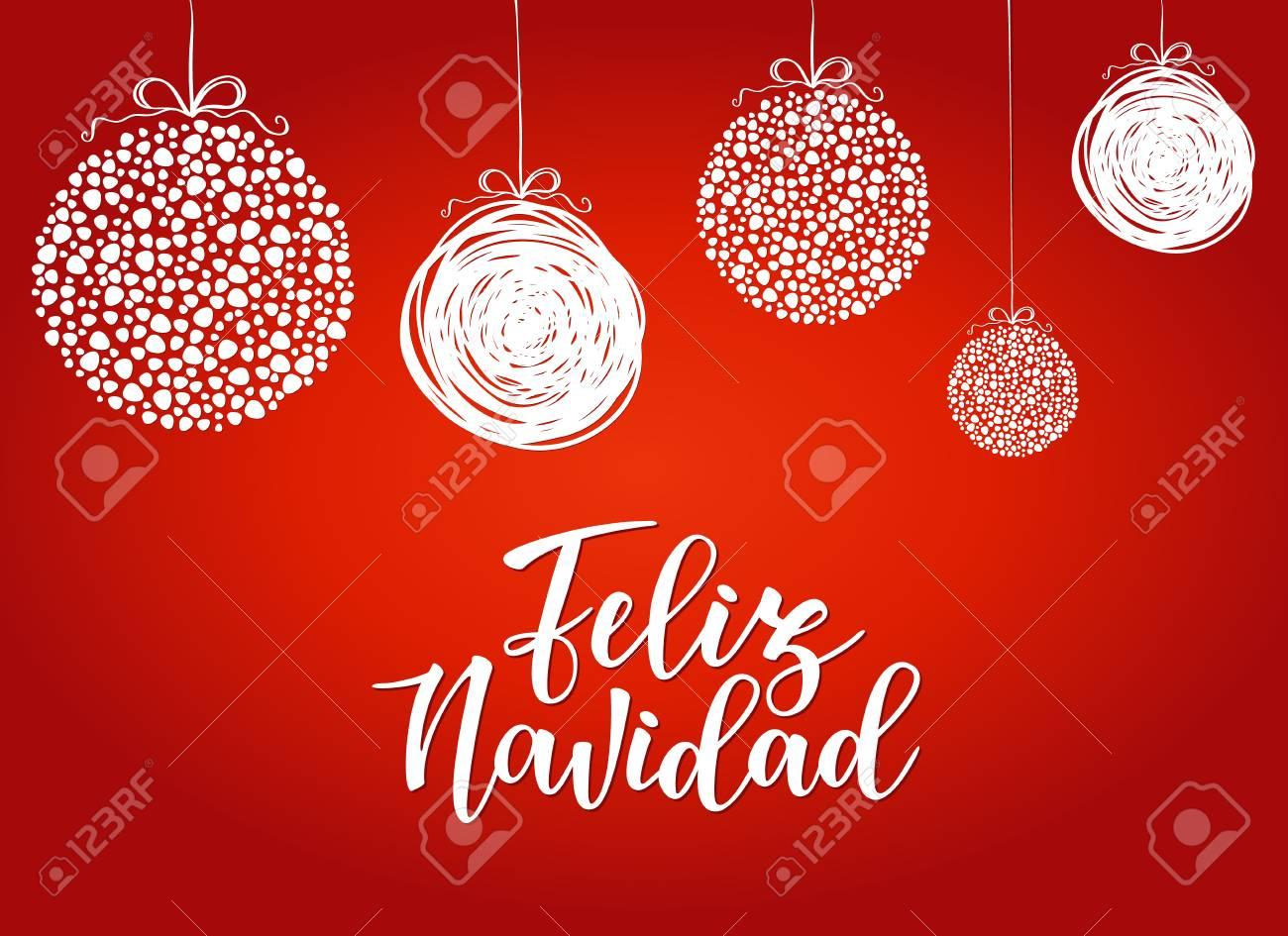 Feliz navidad spanish typography lettering holiday greetings feliz navidad spanish typography lettering holiday greetings spanish quote isolated on white m4hsunfo