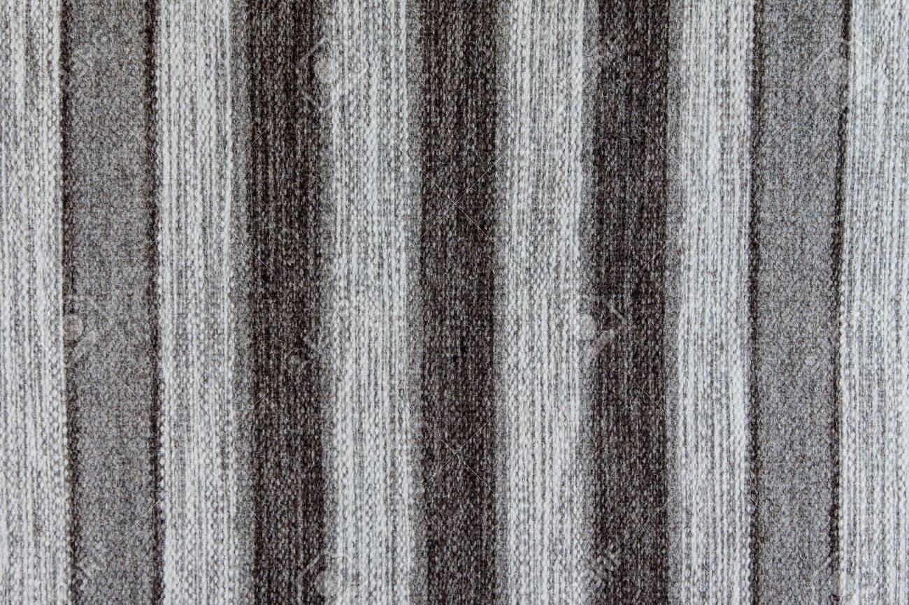Alfombra De Lana Rústica Con Rayas Grises Blanco Y Negro La Textura De Fondo Fotos Retratos Imágenes Y Fotografía De Archivo Libres De Derecho Image 54502399