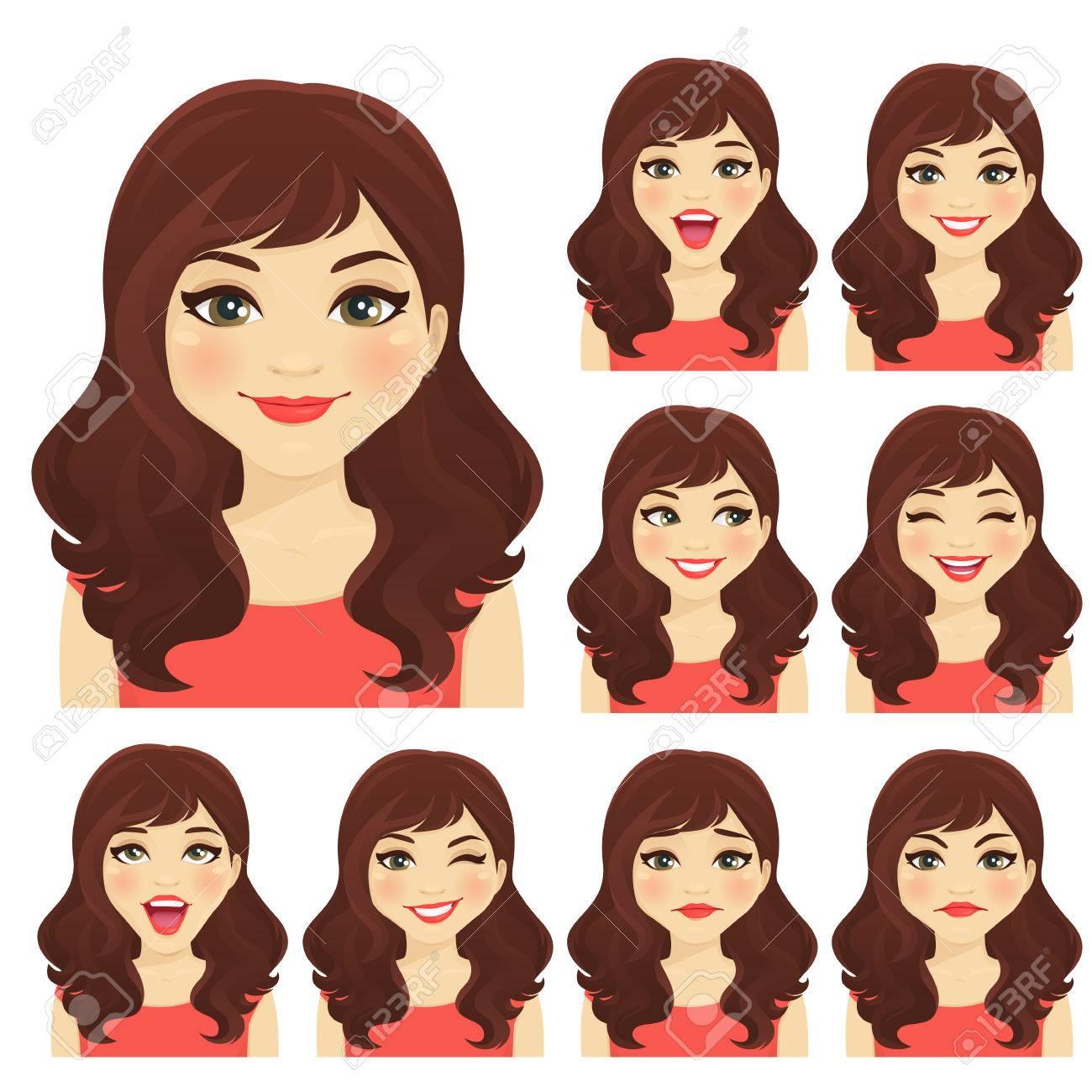 Womans emotion - 87857021