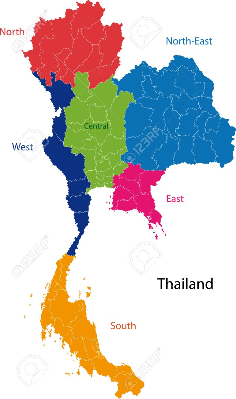 Map of administrative divisions of thailand royalty free cliparts map of administrative divisions of thailand stock vector 21858028 sciox Gallery