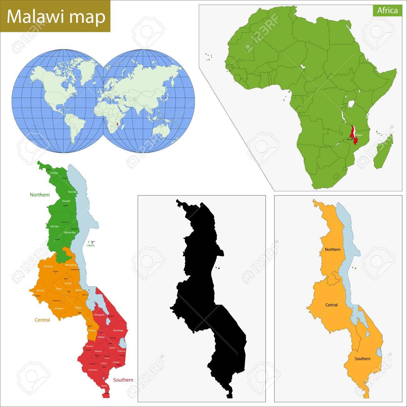 マラウイ共和国の地方行政区画 ...