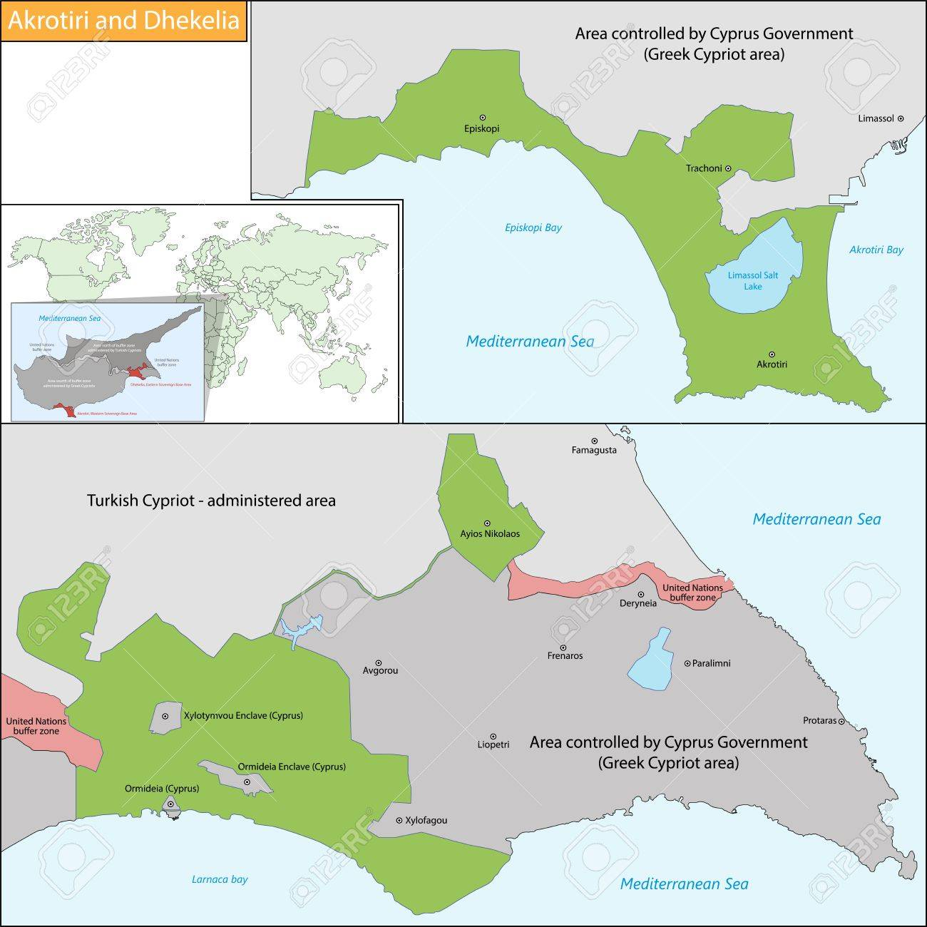 Sovereign Base Areas Of Akrotiri And Dhekelia Is A British Overseas