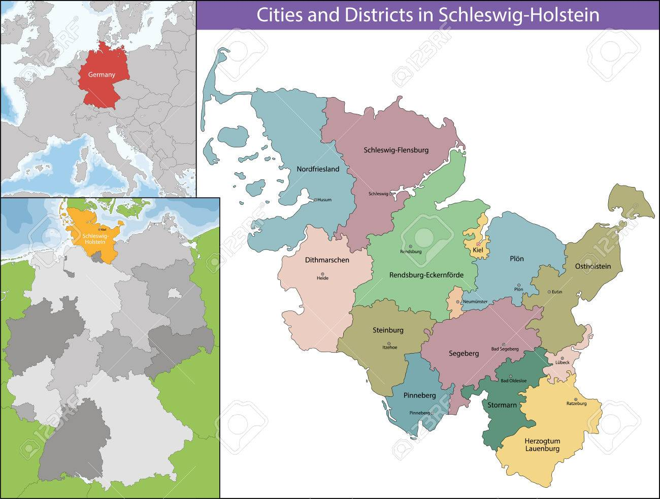 SchleswigHolstein Is The Northernmost Of The 16 States Of Germany