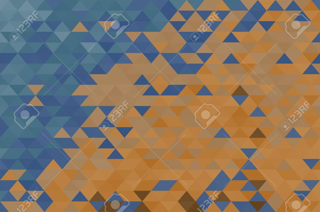 Fond Géométrique Triangulaire Dans Des Couleurs Chaudes Et Froides ...