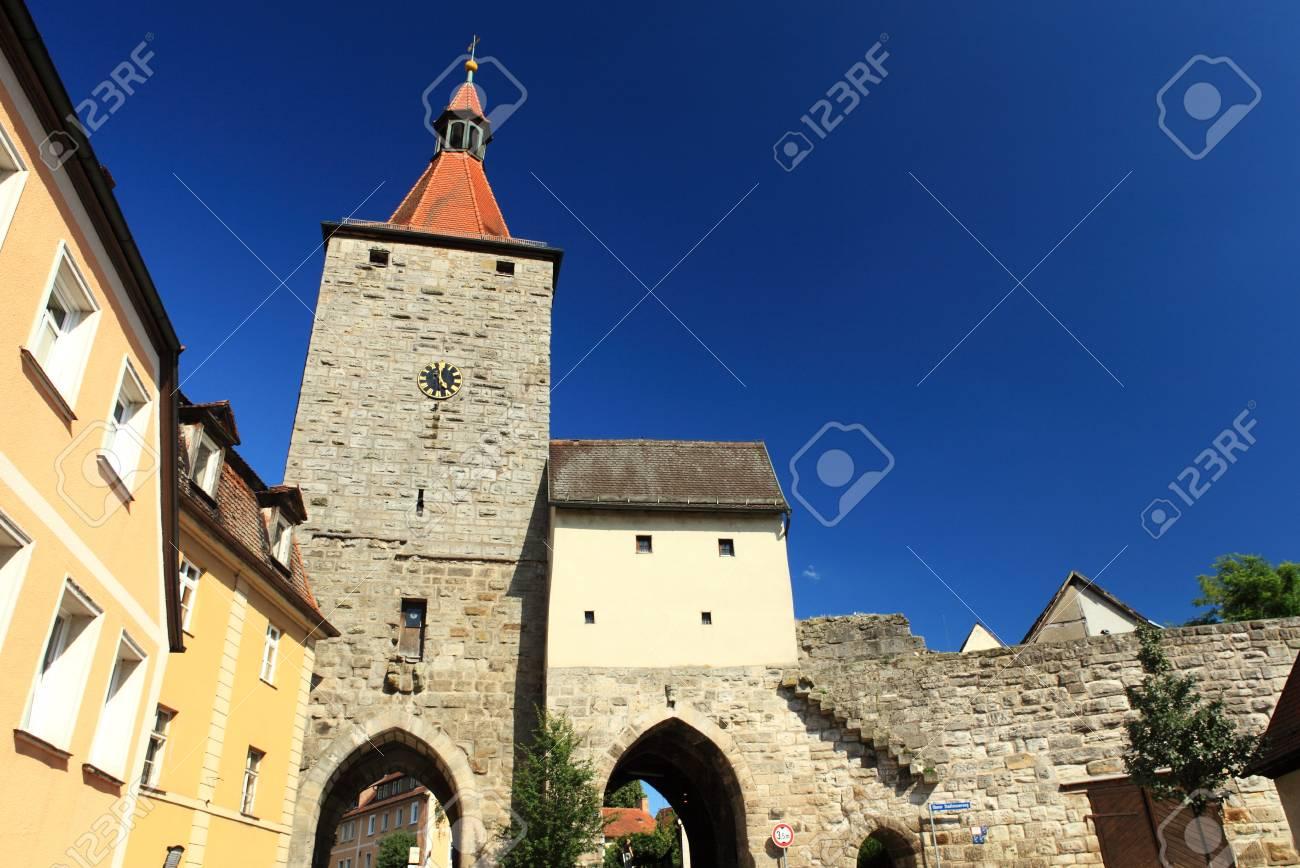Nuremberg s goal in Neustadt Aisch-Bavaria-Germany Stock Photo - 14412195