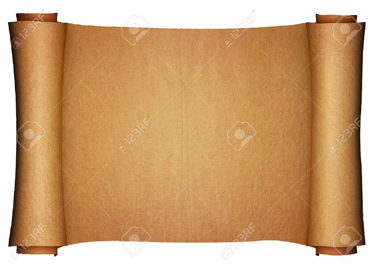 Ancient paper scroll (3d render) Stock Photo - 5470757