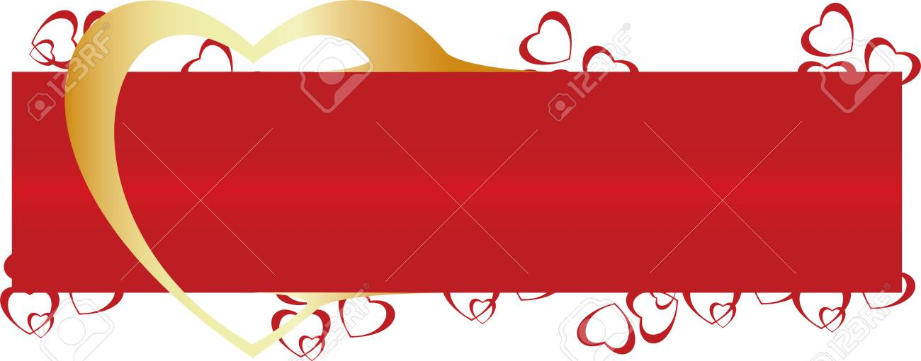 Vector. Heart ornament background. Valentine's day Stock Photo - 4127168