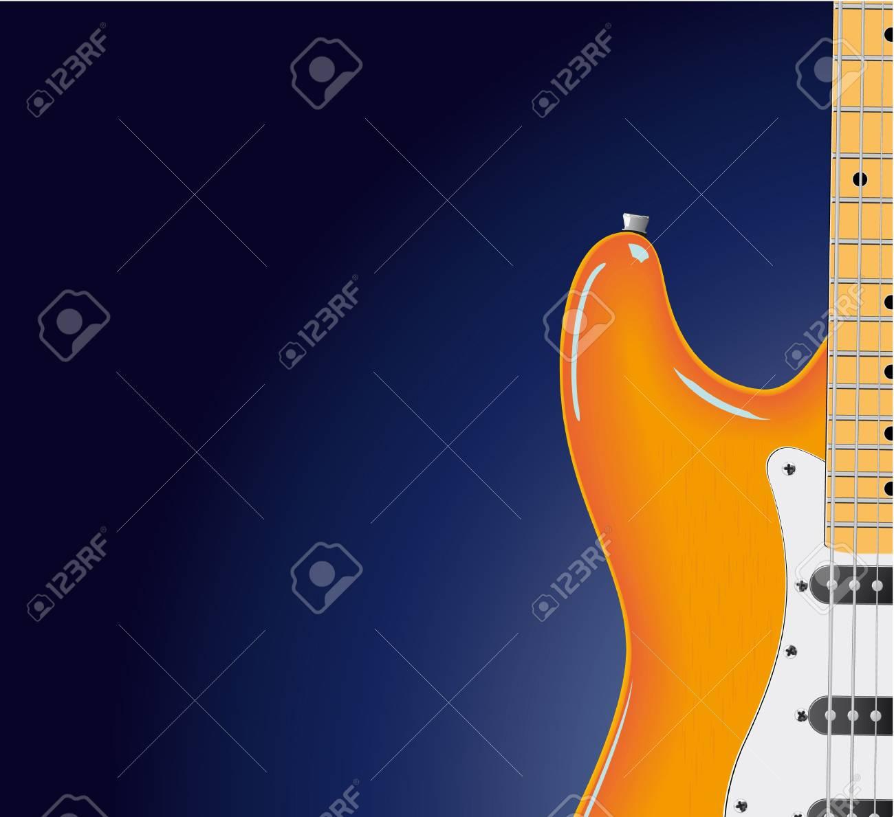 series. Electric guitar Stock Photo - 6586111