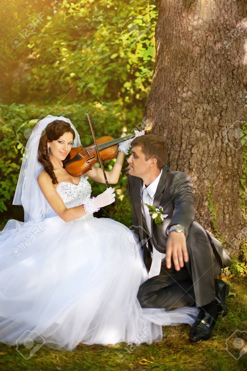 Series. Bride and groom Stock Photo - 8592322