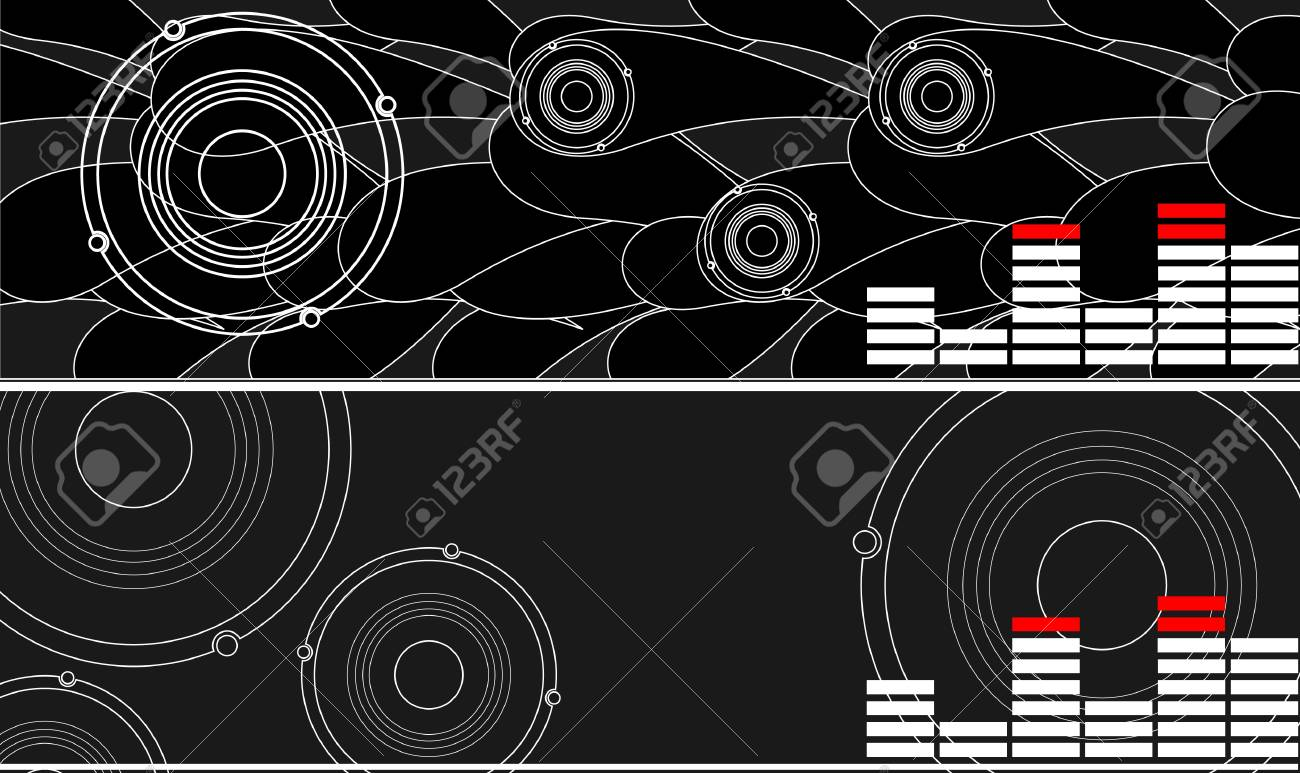 series. Abstract background. Vector illustration Stock Photo - 9618829