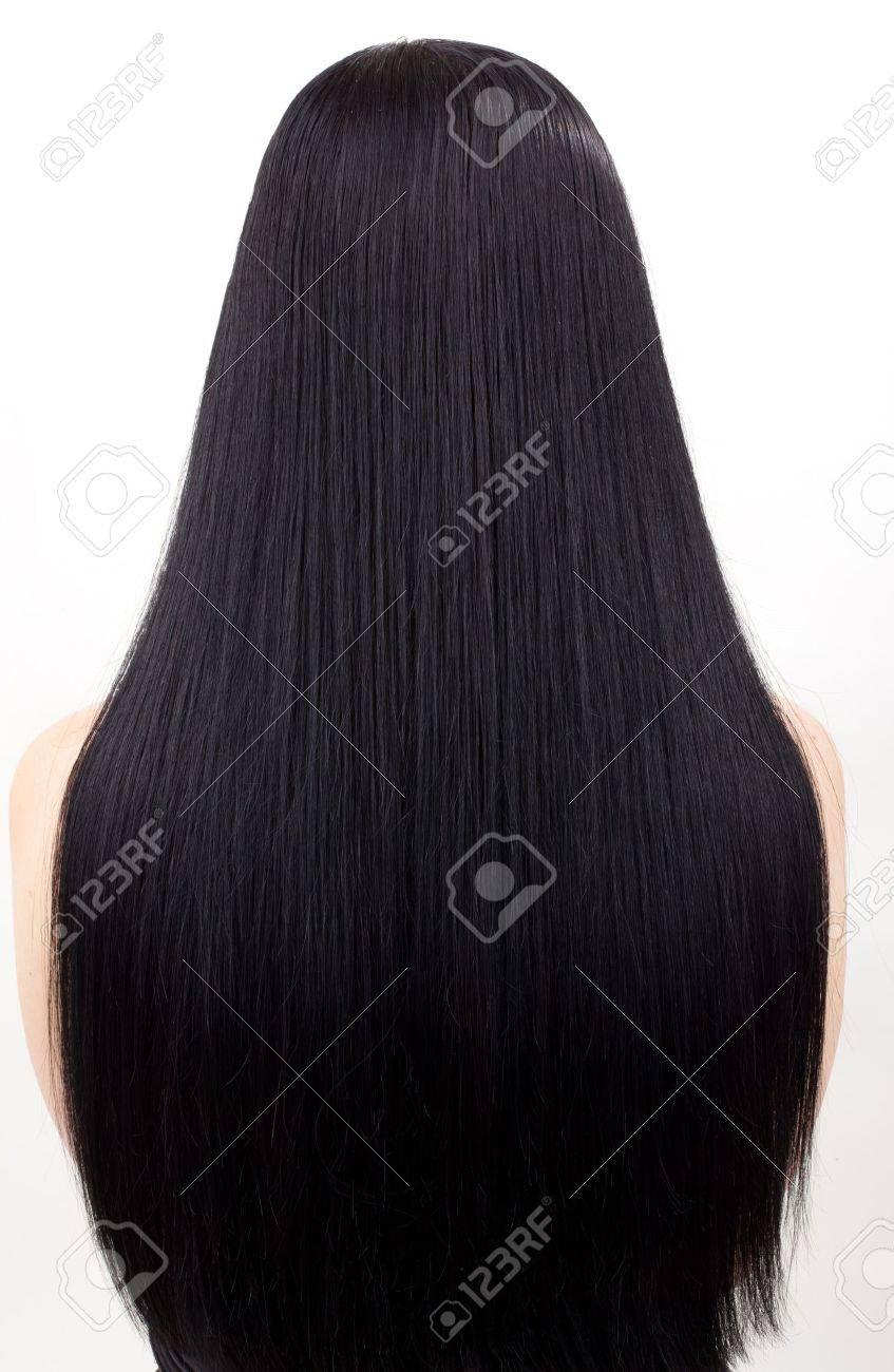 mujer joven con pelo negro hermoso Foto de archivo - 11745863
