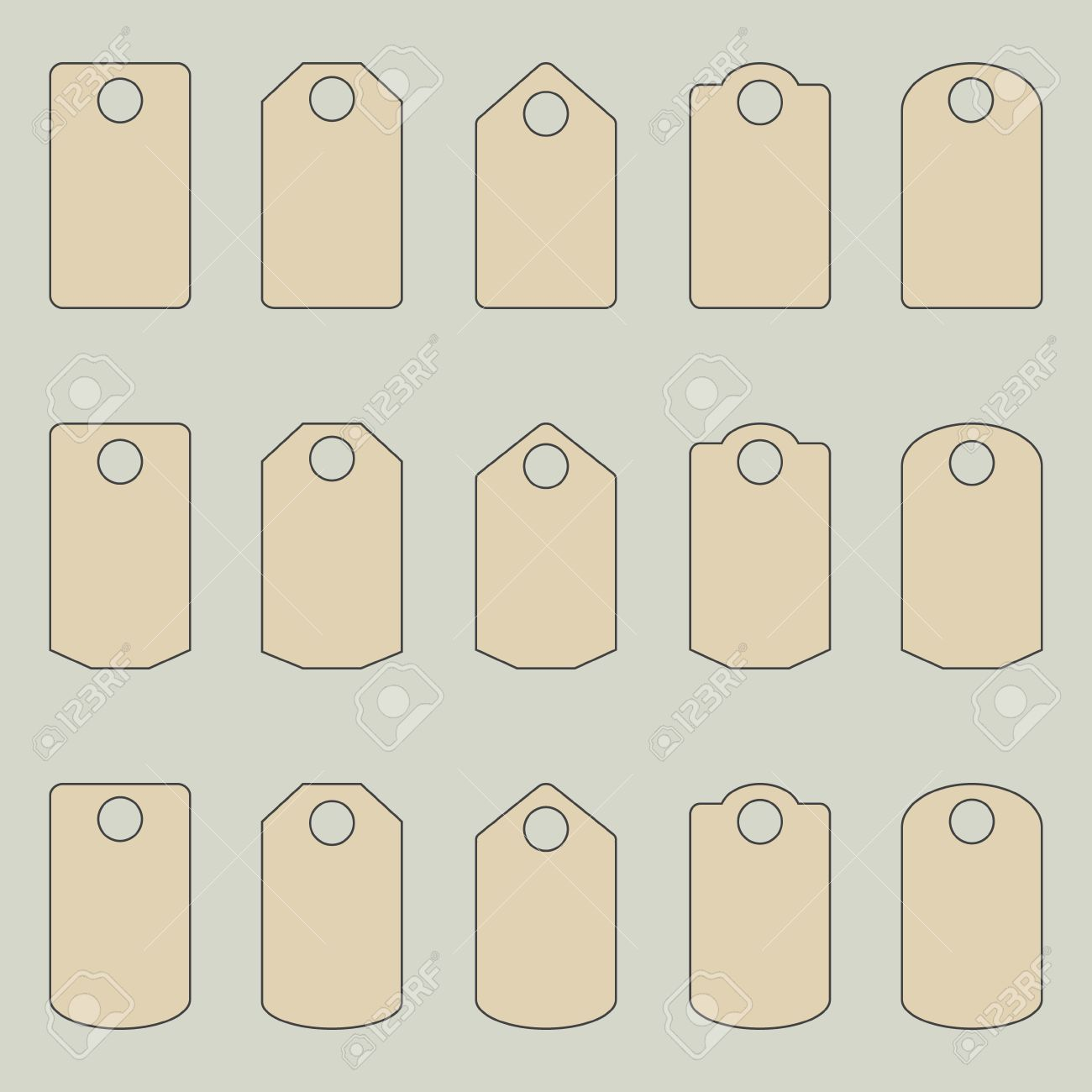 Price Tags Template
