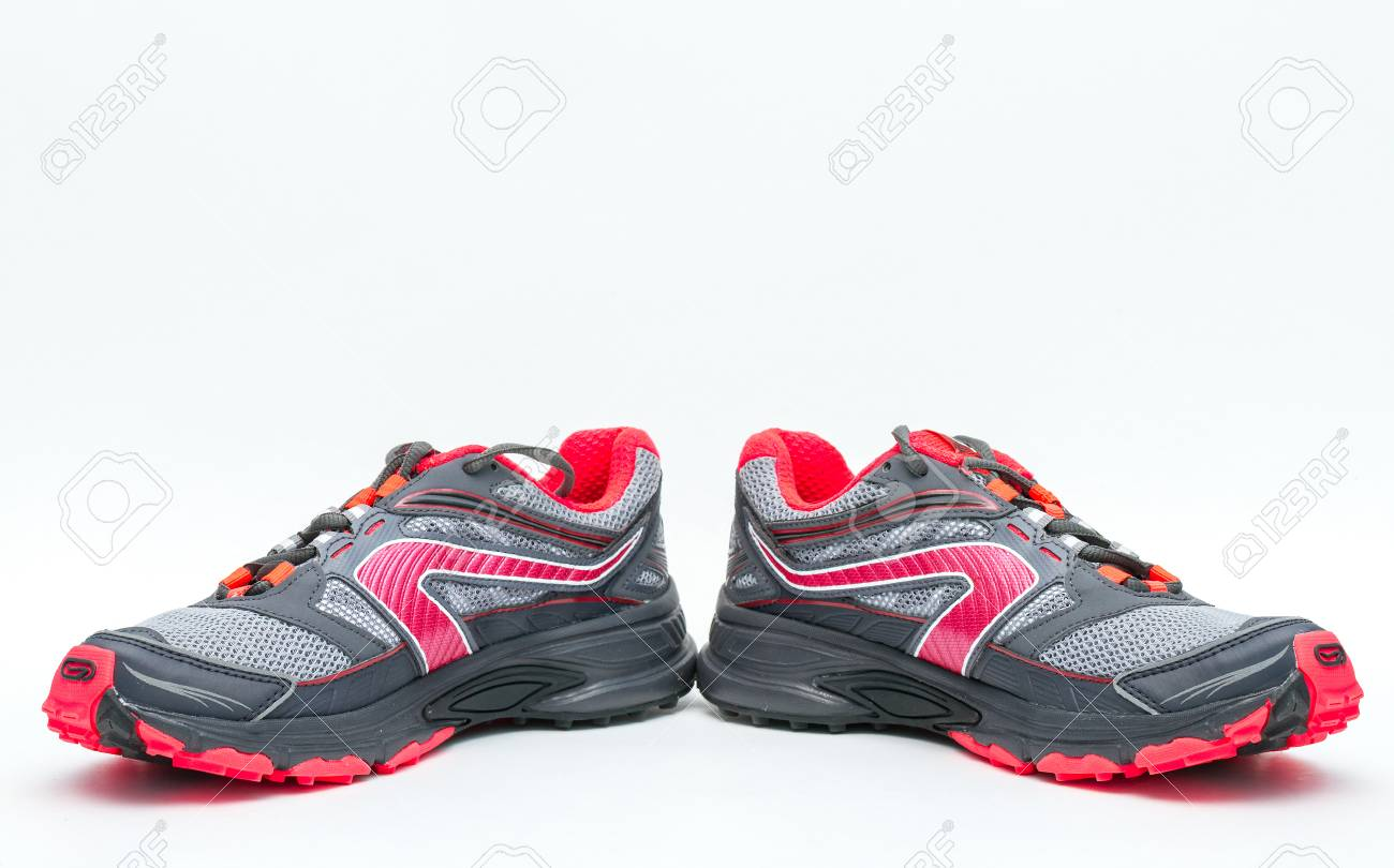 new styles 07456 eb2b7 MOSCOW, RUSSIA-August 1, 2015: Kalenji running Shoe isolated..