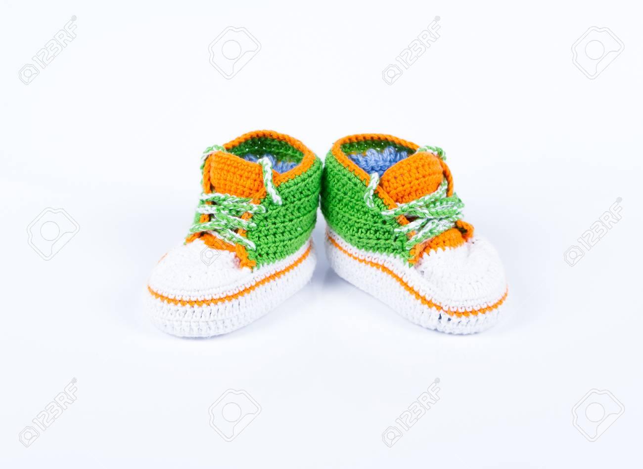 Hermosa Las Pautas De Zapatillas De Ganchillo Fotos - Coser Ideas ...