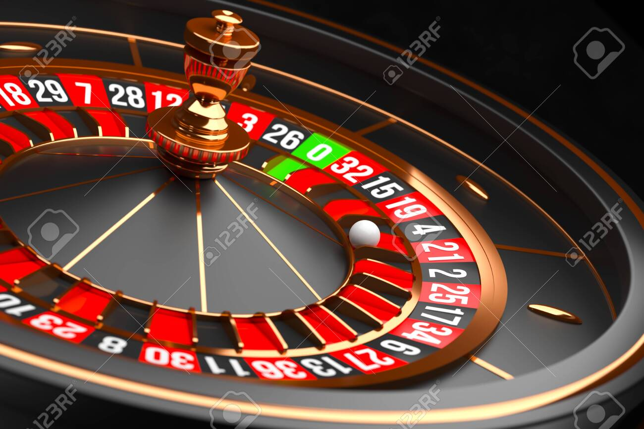 Luxury Casino Roulette Wheel On Black Background Casino Theme Stock Photo Picture And Royalty Free Image Image 120842803