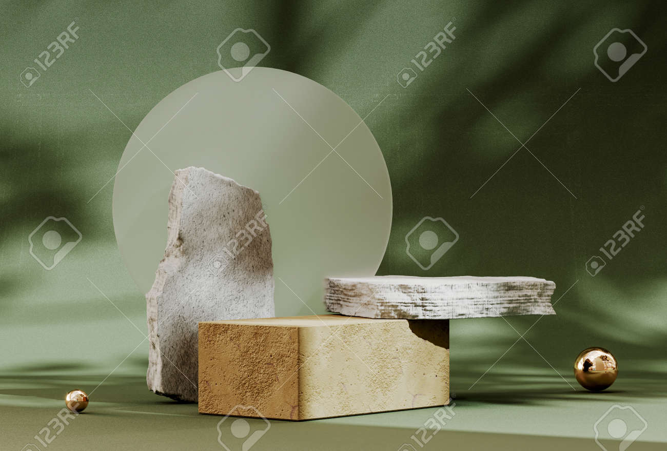 Abstract pedestal, blank platform for product display. Podium for product presentation. Premium Photo - 172803656