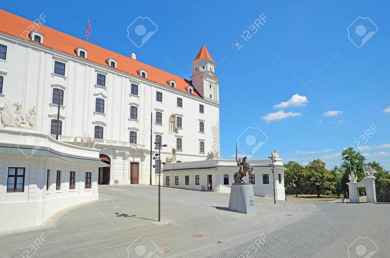 BRATISLAVA - AUGUST 1  Bratislava Castle On August 1 a1aa26c558d