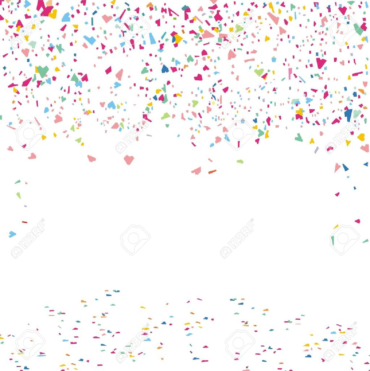 Vector - confetti