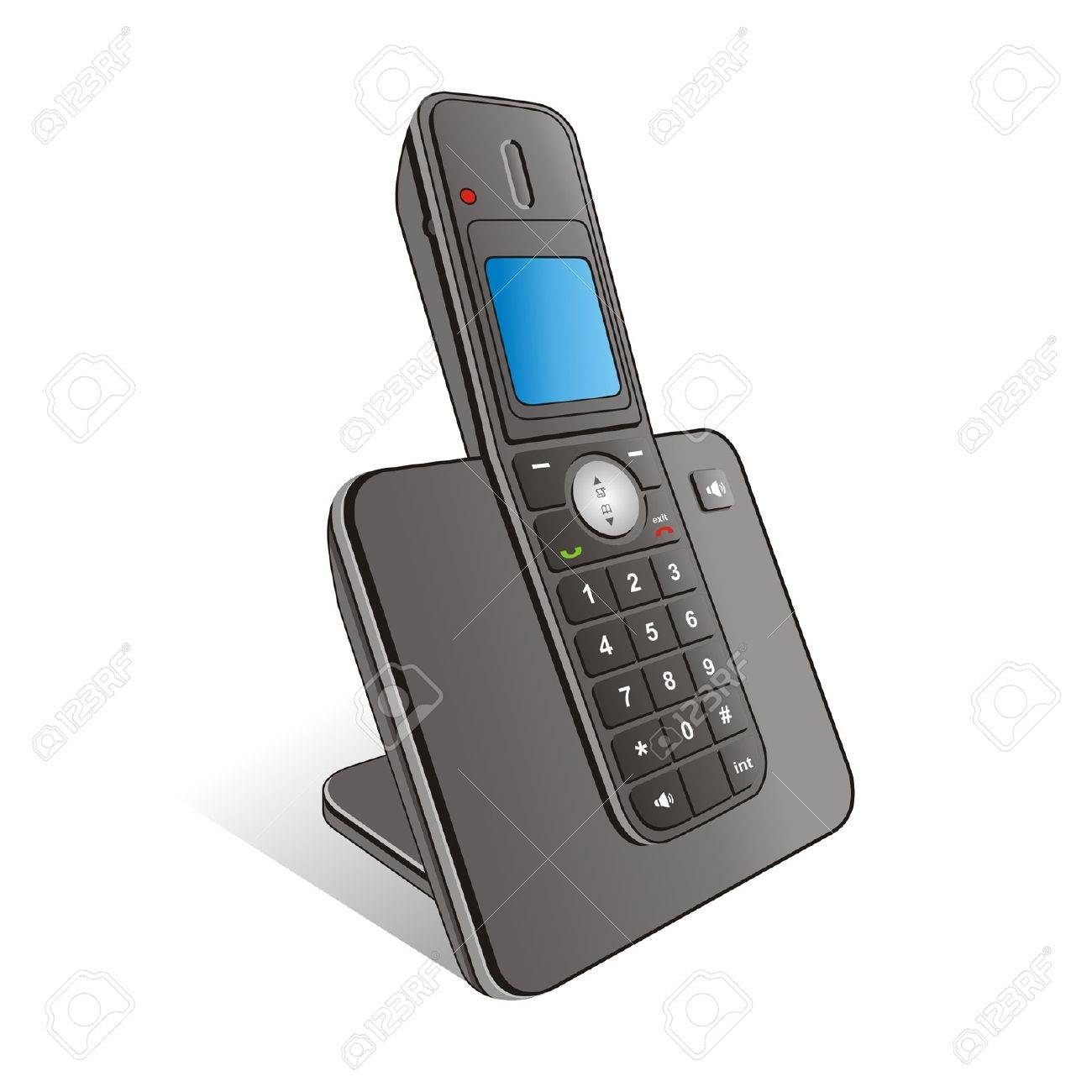 telephone Stock Vector - 11945046