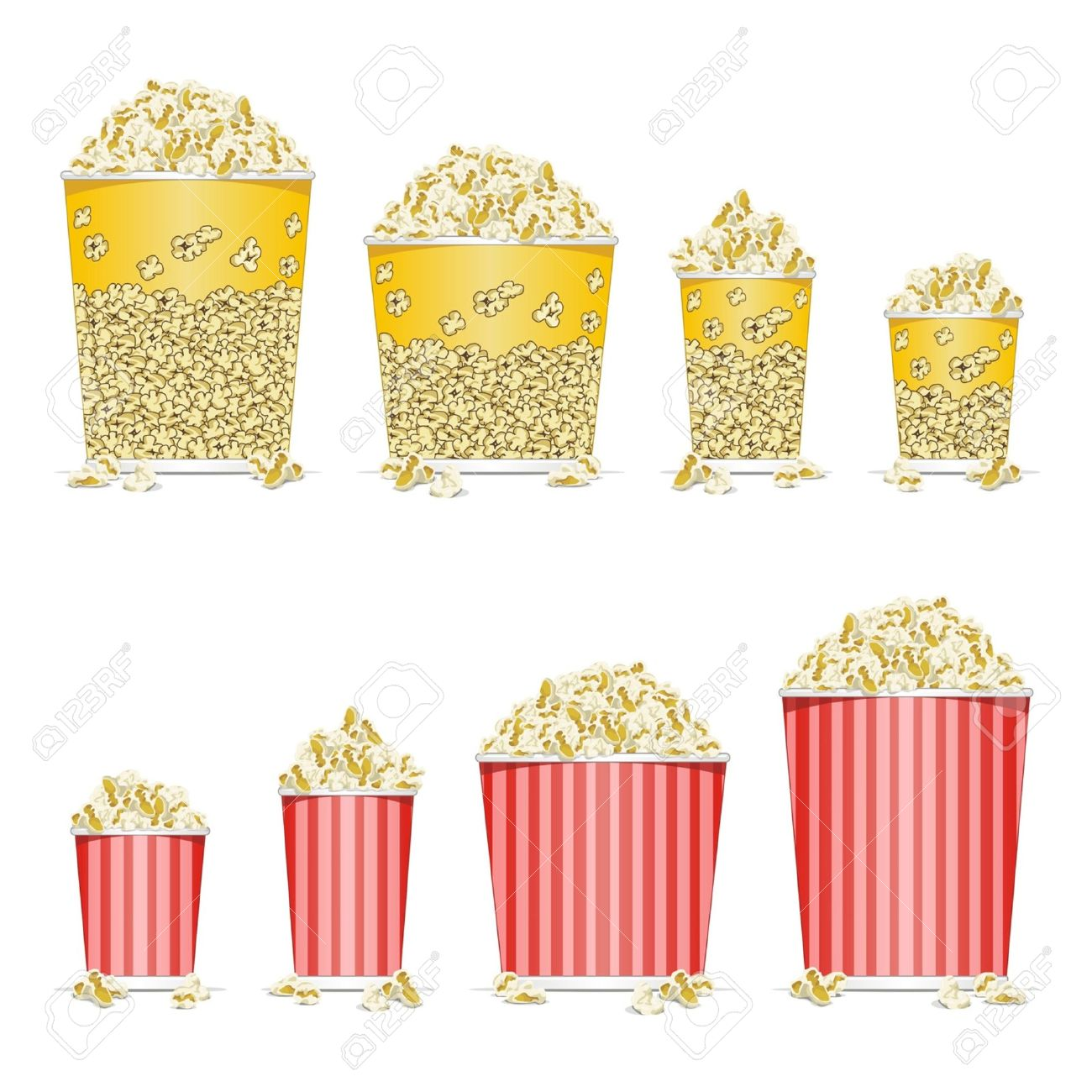 Popcorn Box Stock Photos & Pictures. Royalty Free Popcorn Box ...