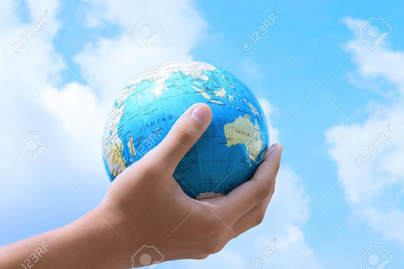 The earth are what you do Stock Photo - 9398352