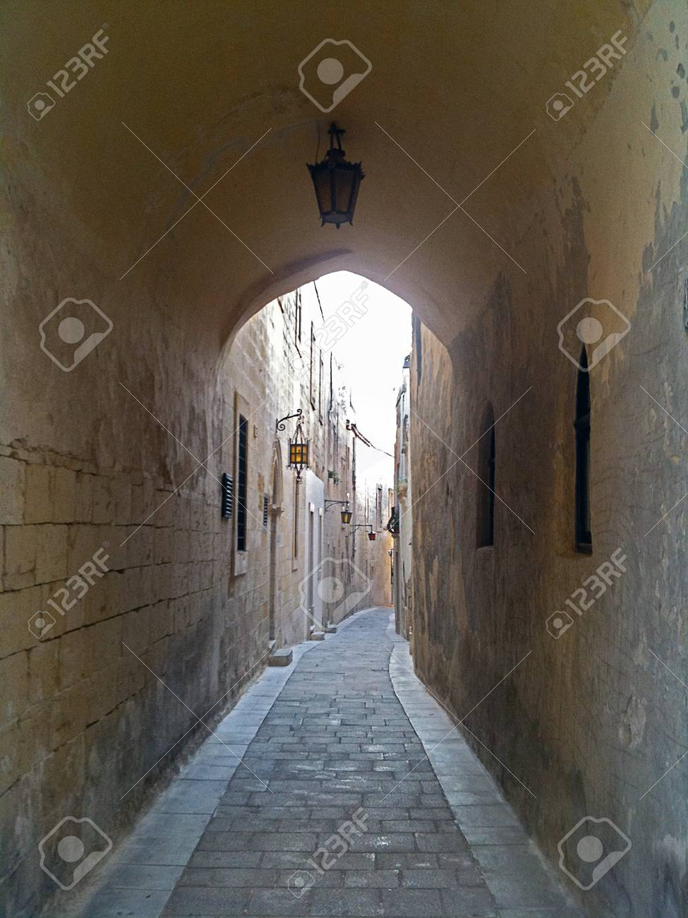 Mdina Street Tunnel - 34371407