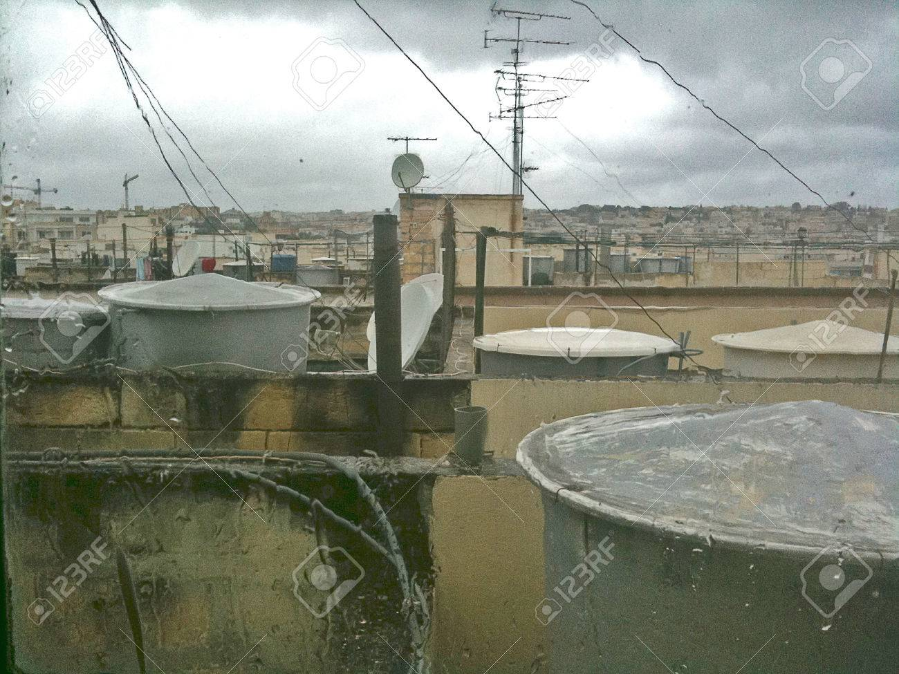 Rooftops of Sliema - 34391448