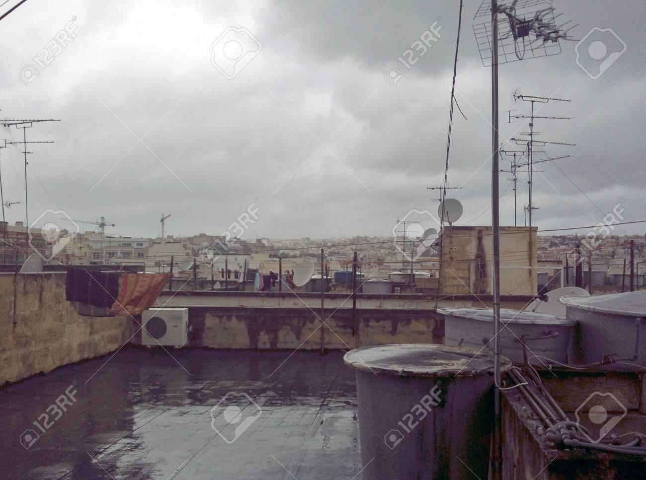 Rooftops of Sliema - 34360463