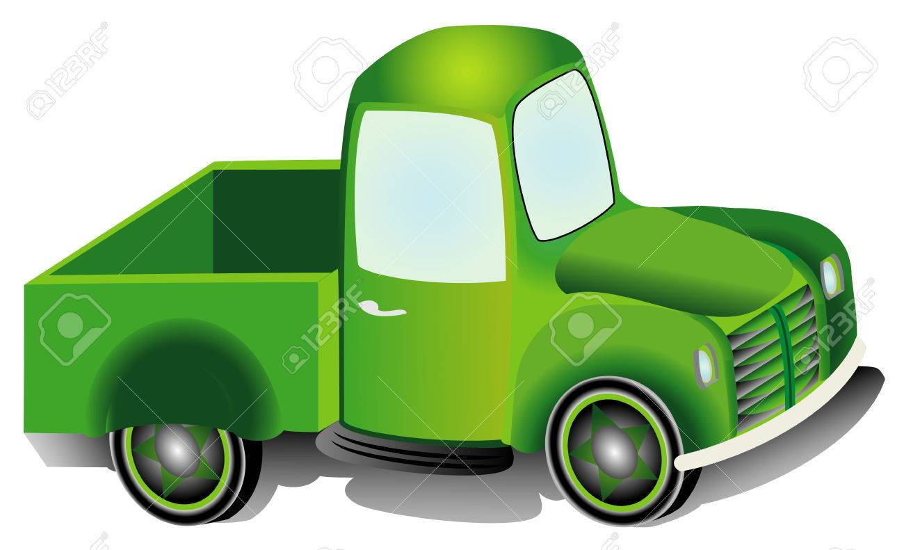Pickup Truck Graphic Design Illustration Of An Pickup Truck Royalty Free Cliparts Vectors And Stock Illustration Image 27895192
