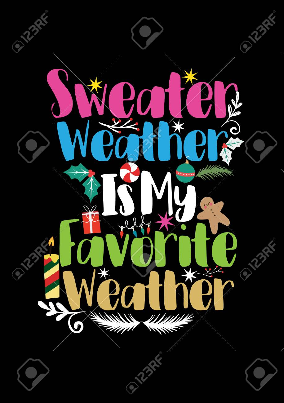 what is your favourite weather