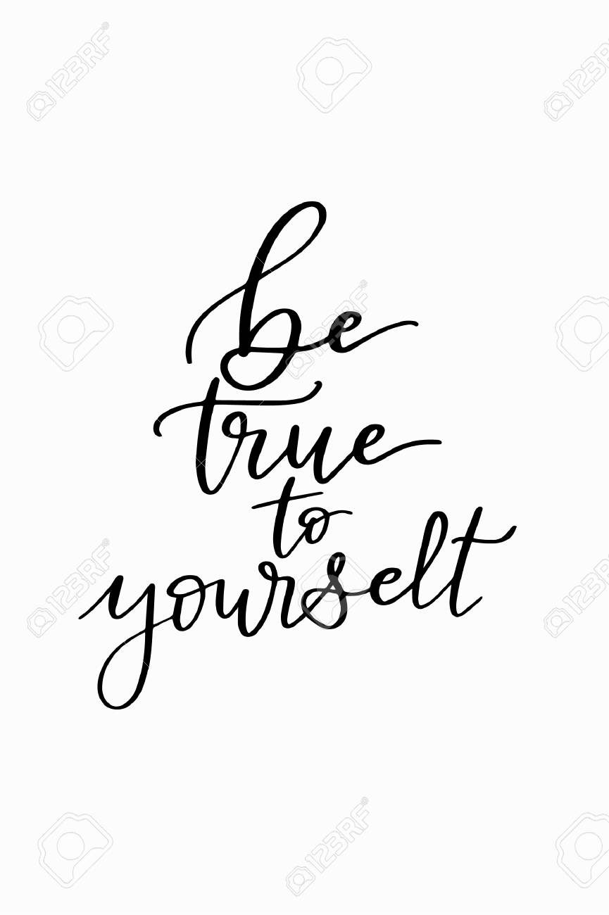 Image result for be true to yourself clipart