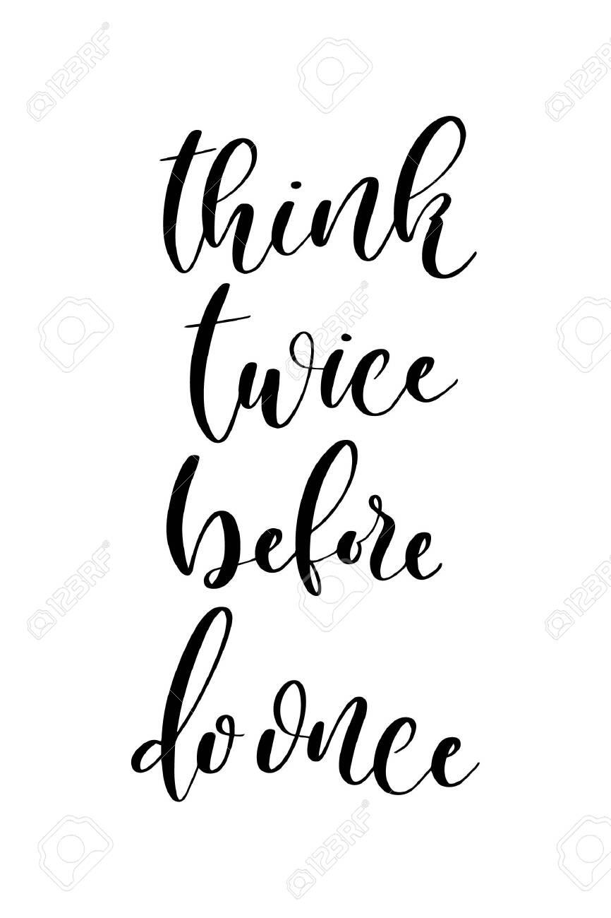 Think Twice Clip Art