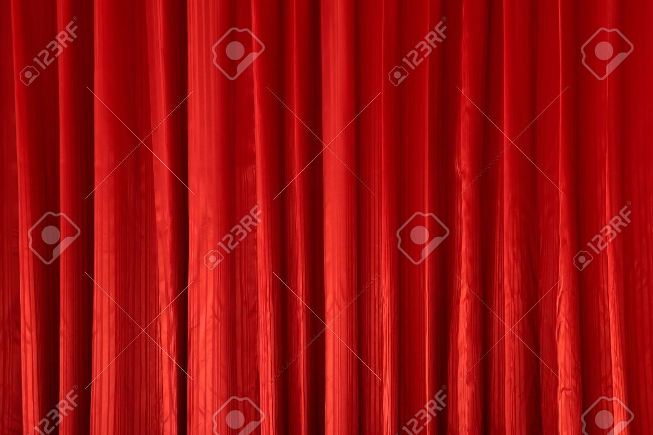 Red curtain textures Stock Photo - 13807144