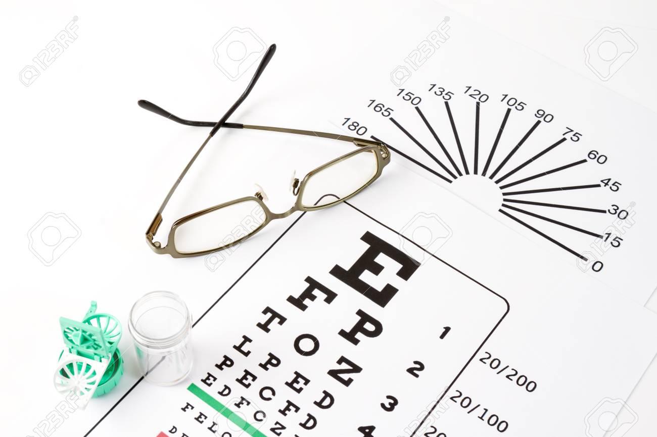 The eye glasses on medical eye chart stock photo picture and the eye glasses on medical eye chart stock photo 87205904 nvjuhfo Choice Image