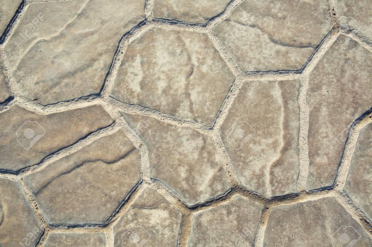 Stein Oder Rock Boden Muster Hintergrund Und Textur Lizenzfreie