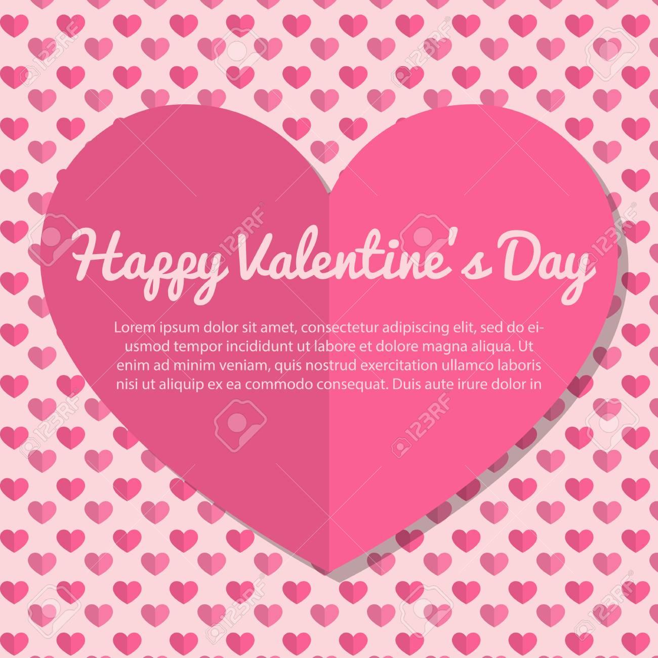 Charmant Valentinstag Karten Vorlagen Bilder ...