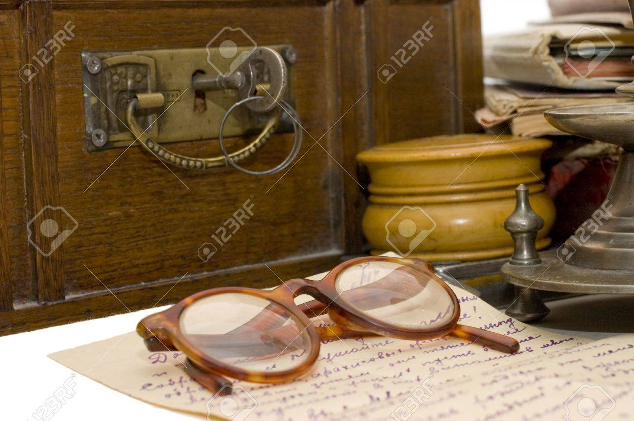 Ancient chest and different old things Stock Photo - 6086261