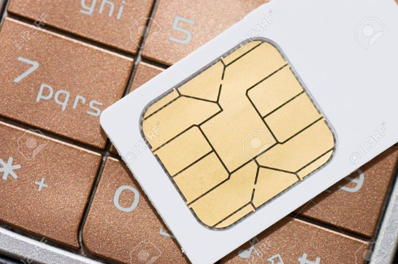 cellphone and sim card Stock Photo - 7496840