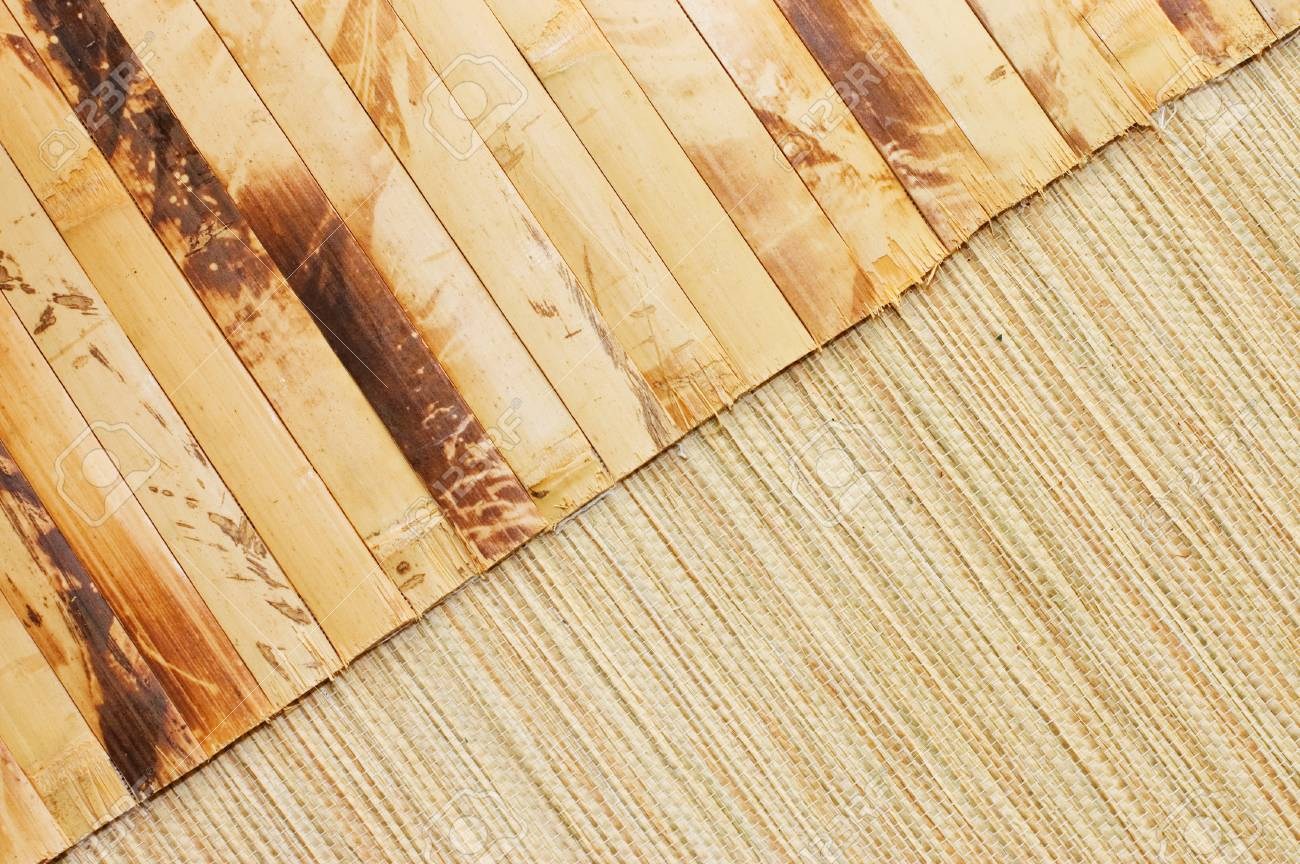 Bamboo Mat Stock Photo - 9412917