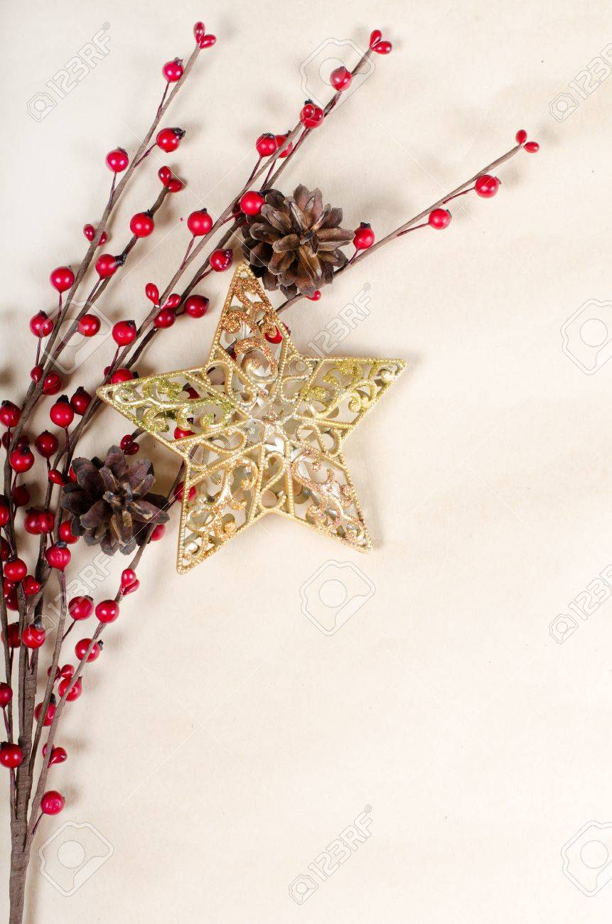 The christmas Border Design as a background Stock Photo - 10655418