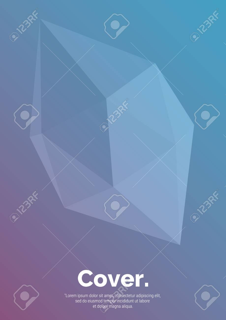 Geometrical shapes composition  Futuristic design posters  Abstract